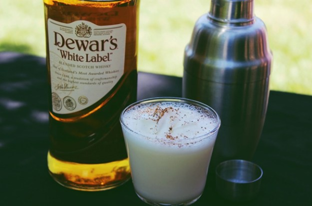 dewars scotch milk punch