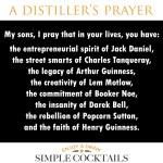 A Distiller's Prayer