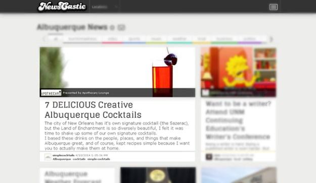 newscastic Albuquerque cocktails
