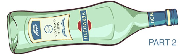 vermouth bottle illustration part 2