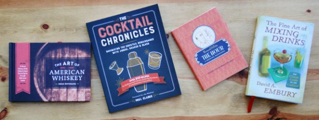 4 cocktail books