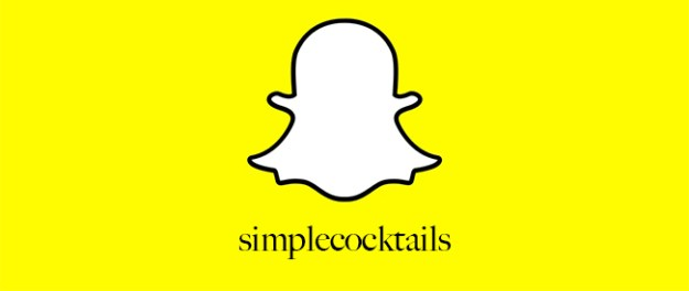 simple cocktails snapchat