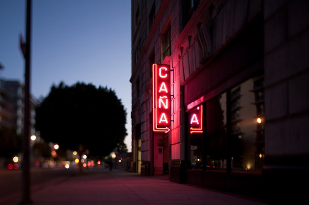 cana rum bar sign