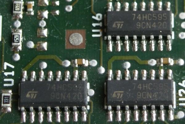 Illustration tutoriel utilisation du 74HC595 avec Arduino