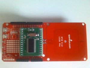 Shield Evaluation RFID et module SM130