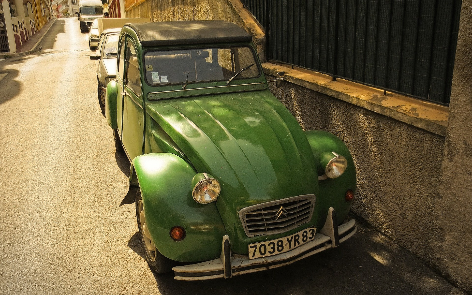 Citroën 2CV, a legendary French car