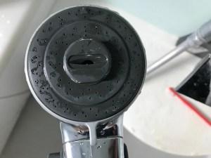シャワーヘッド掃除