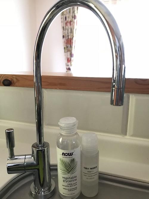 手作り化粧水の純水