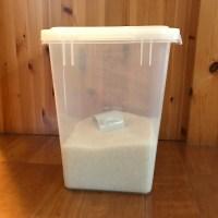 常温でも大丈夫。我が家のお米の保存方法