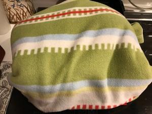 鍋保温毛布