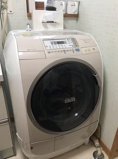 壊れた洗濯乾燥機