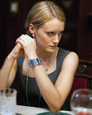 Taylor Schilling in Atlas Shrugged. Apparently the movie stank. The novel has over 1000 pages so it's a big ask ;)