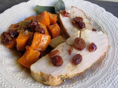 Turkey Tenderloin & Sweet Potato Skillet
