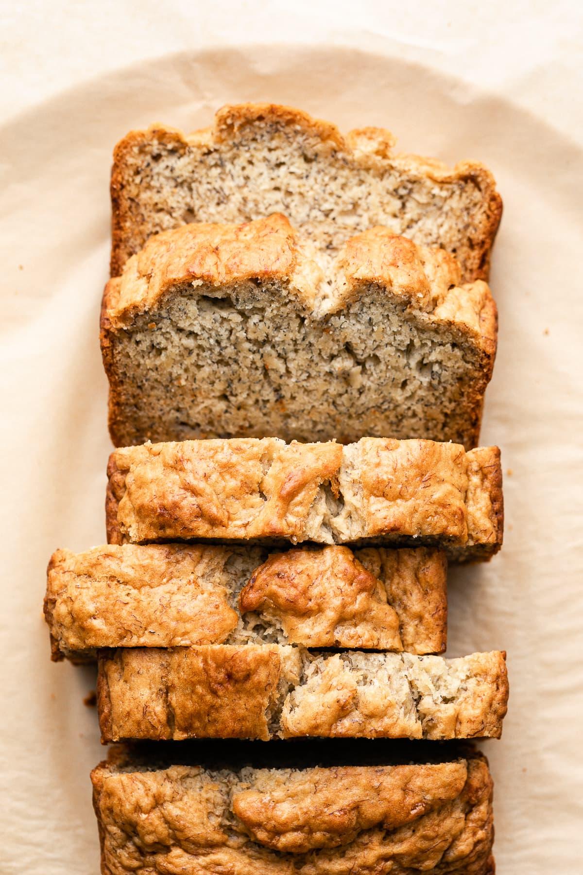 easy vegan gluten free banana bread