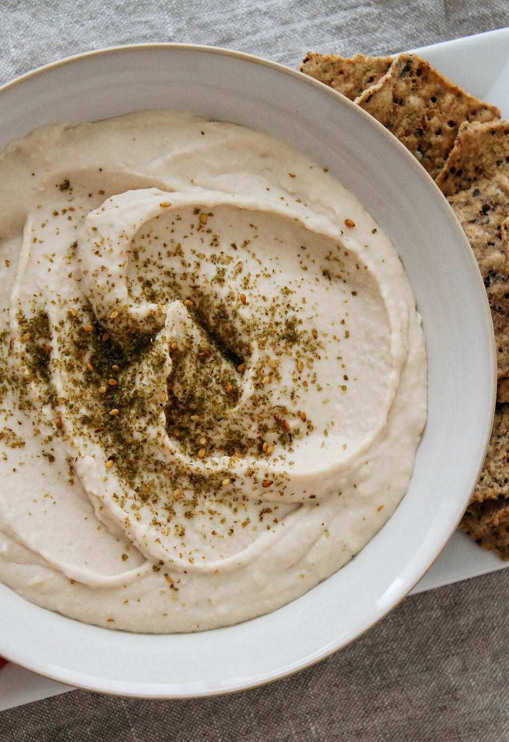 Simple White Bean Hummus Tahini Or Oil Free The Simple Vegansita