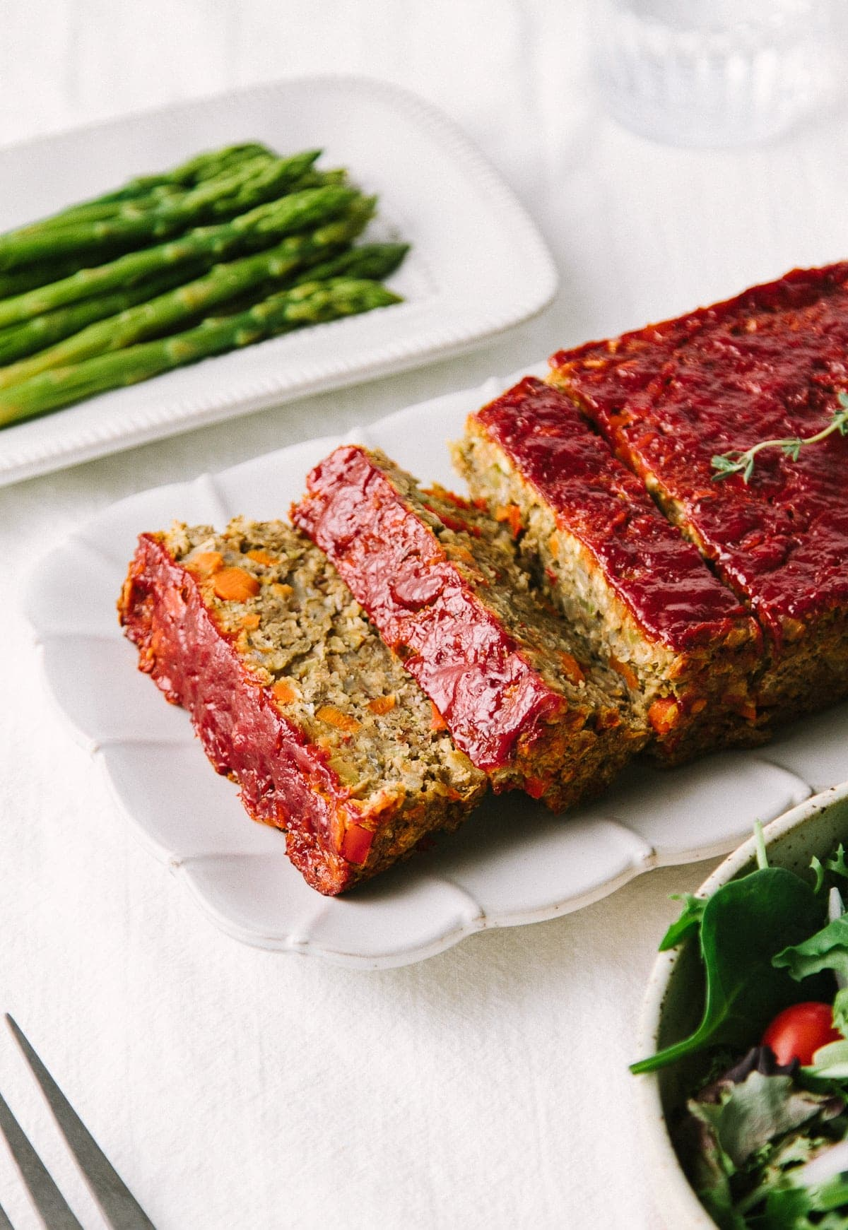 The Ultimate Vegetable Lentil Loaf The Simple Veganista