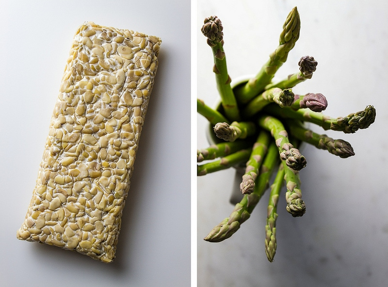 ORANGE ROASTED TEMPEH & ASPARAGUS