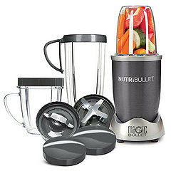 nutribullet with accessories.