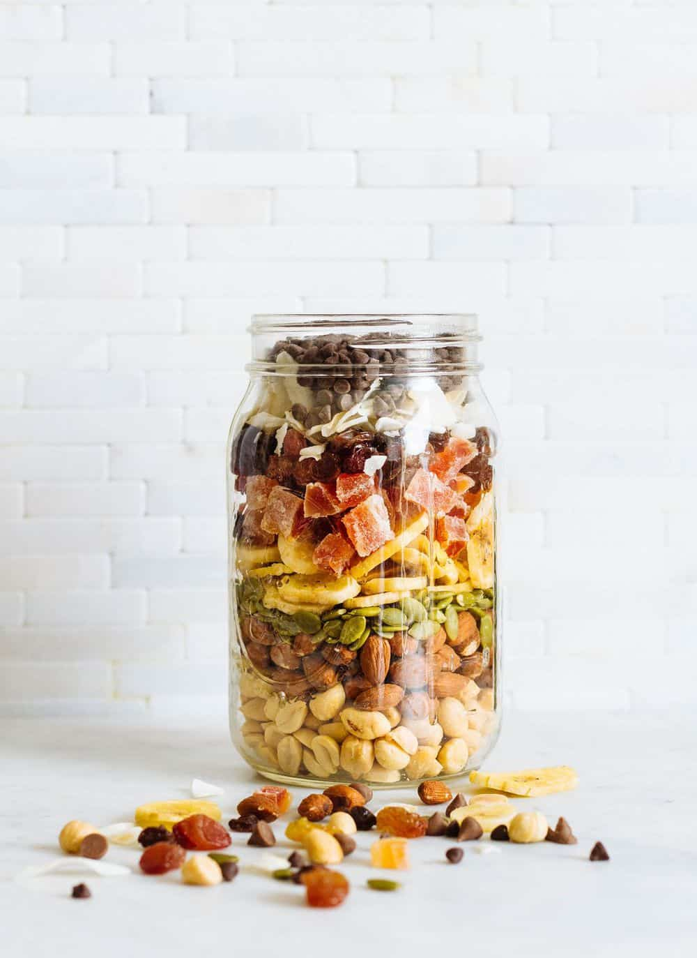healthy almost-everything trail mix