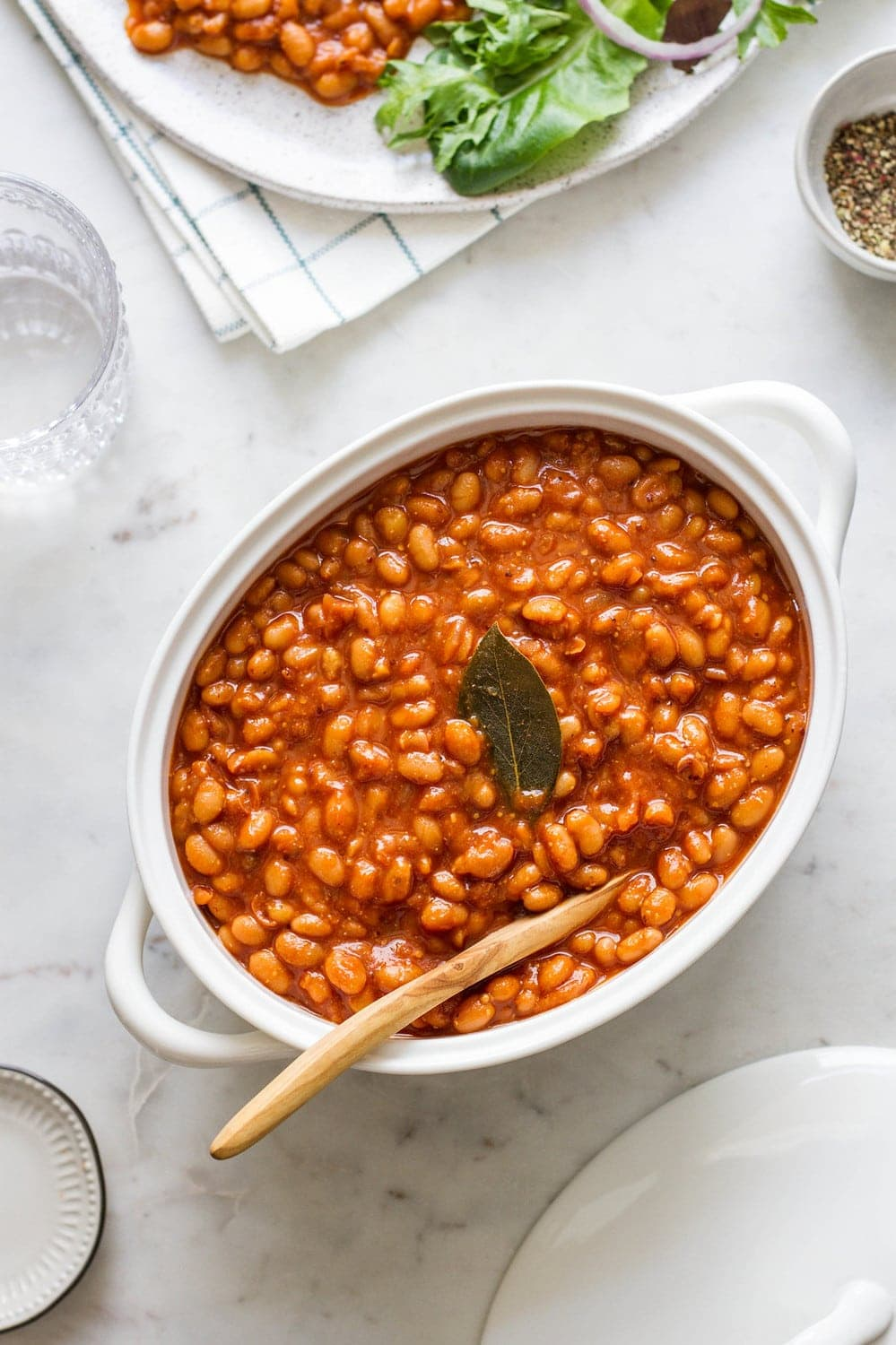 Healthy Baked Beans Instant Pot Slow Cooker The Simple Veganista