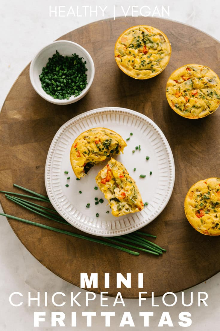 easy chickpeas flour frittata recipe