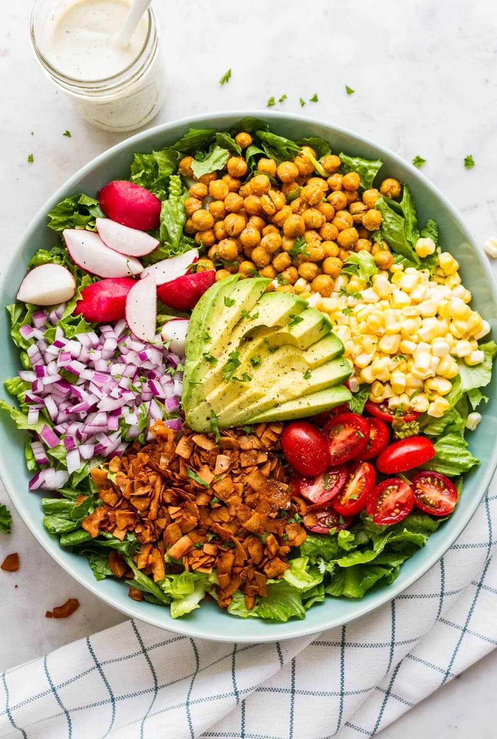 Vegan Cobb Salad - The Simple Veganista