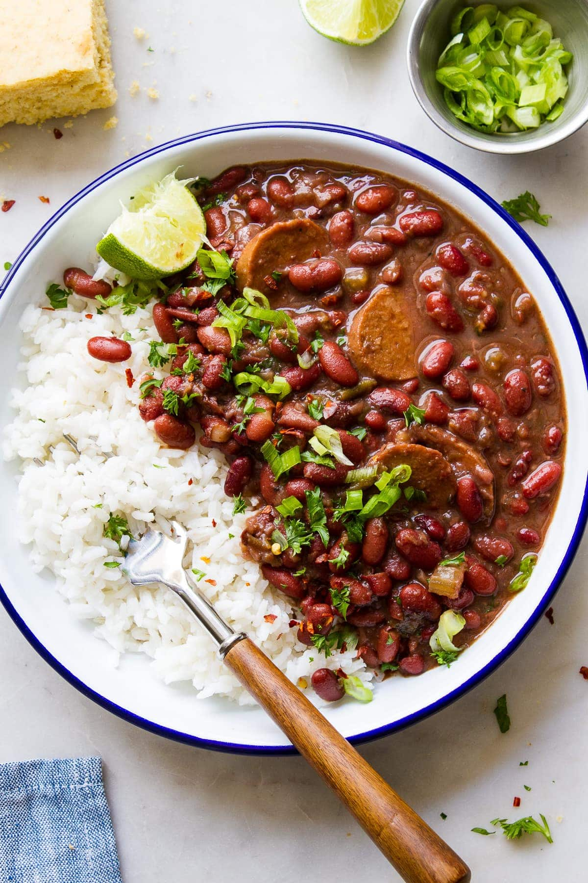 Instant Pot Red Beans And Rice Vegan The Simple Veganista