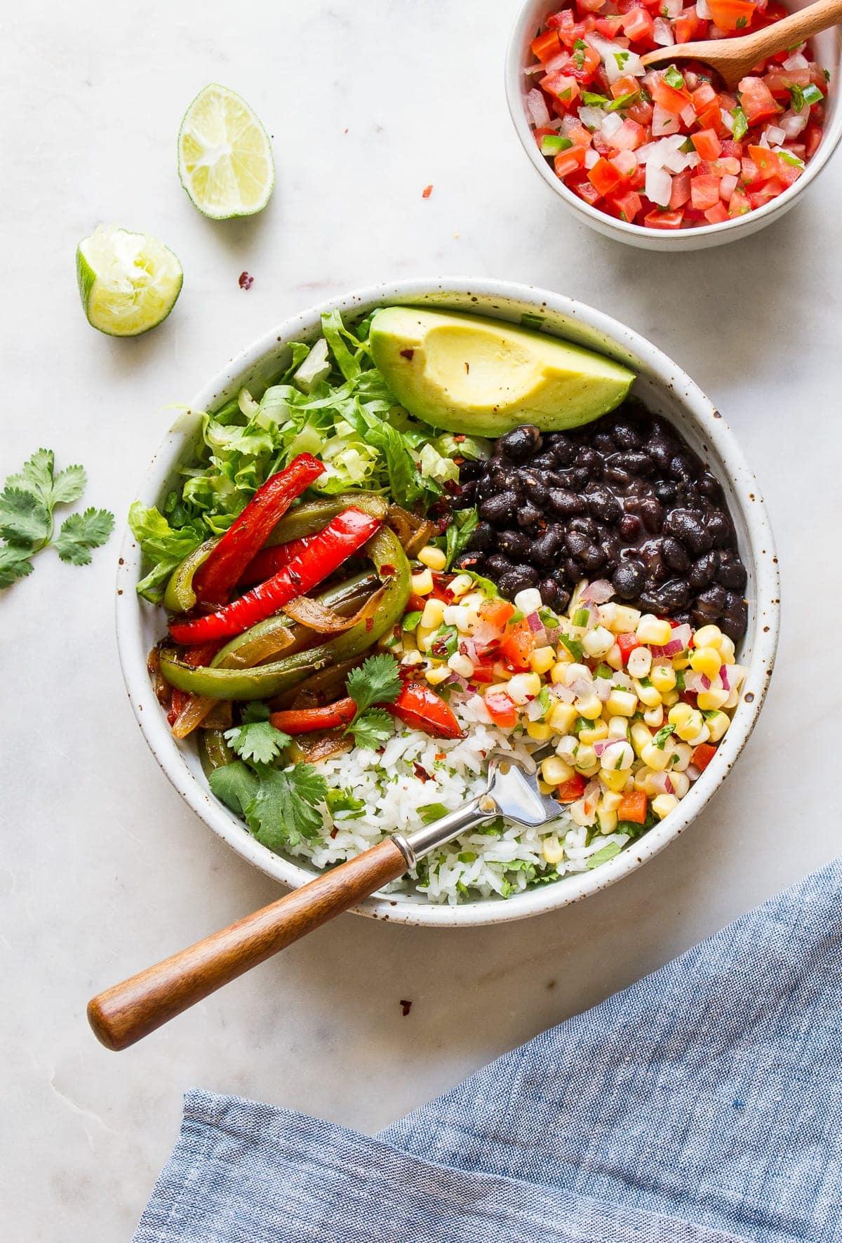 Vegan Burrito Bowl Chipotle Inspired The Simple Veganista