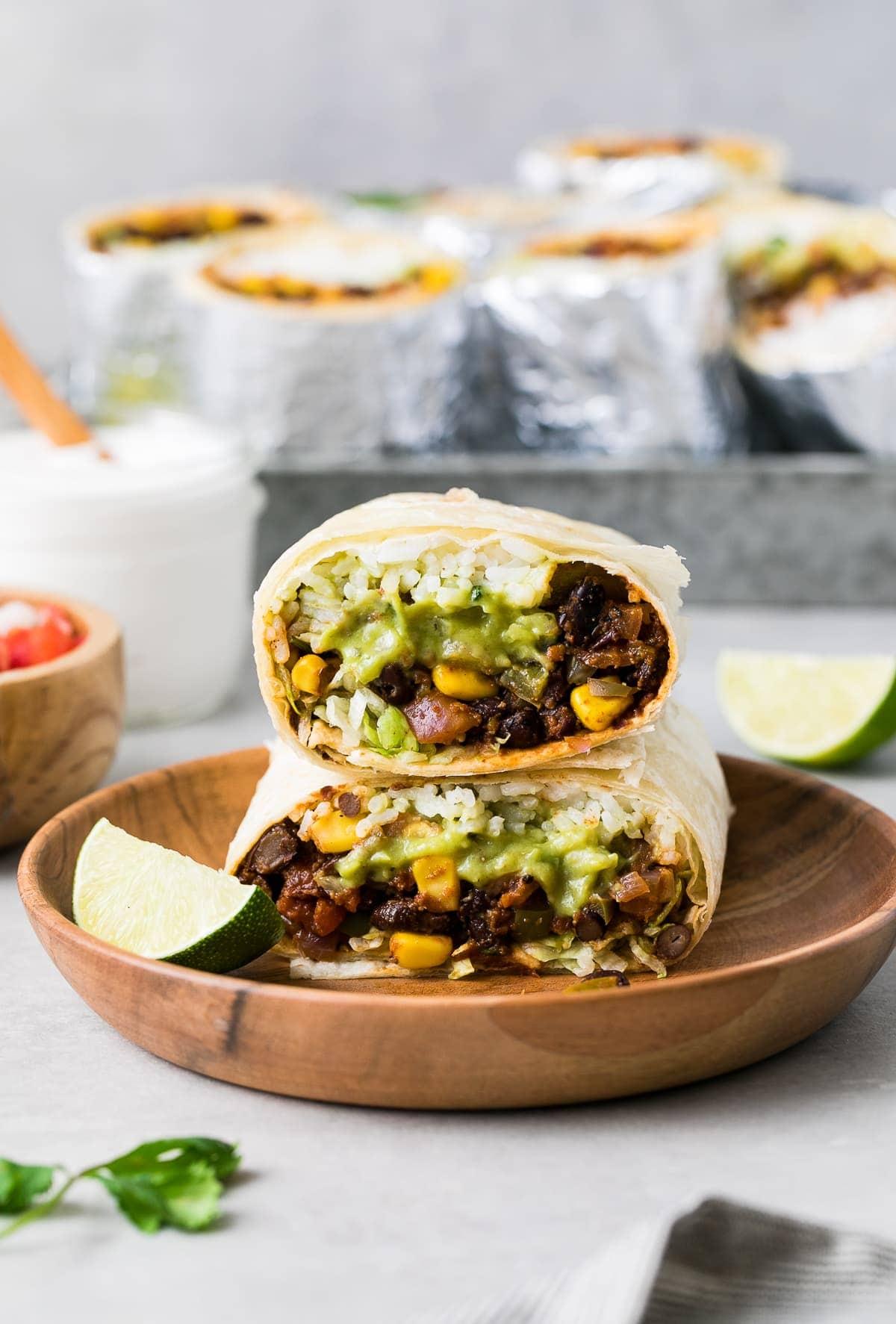Vegan Burrito Quick Easy Recipe The Simple Veganista