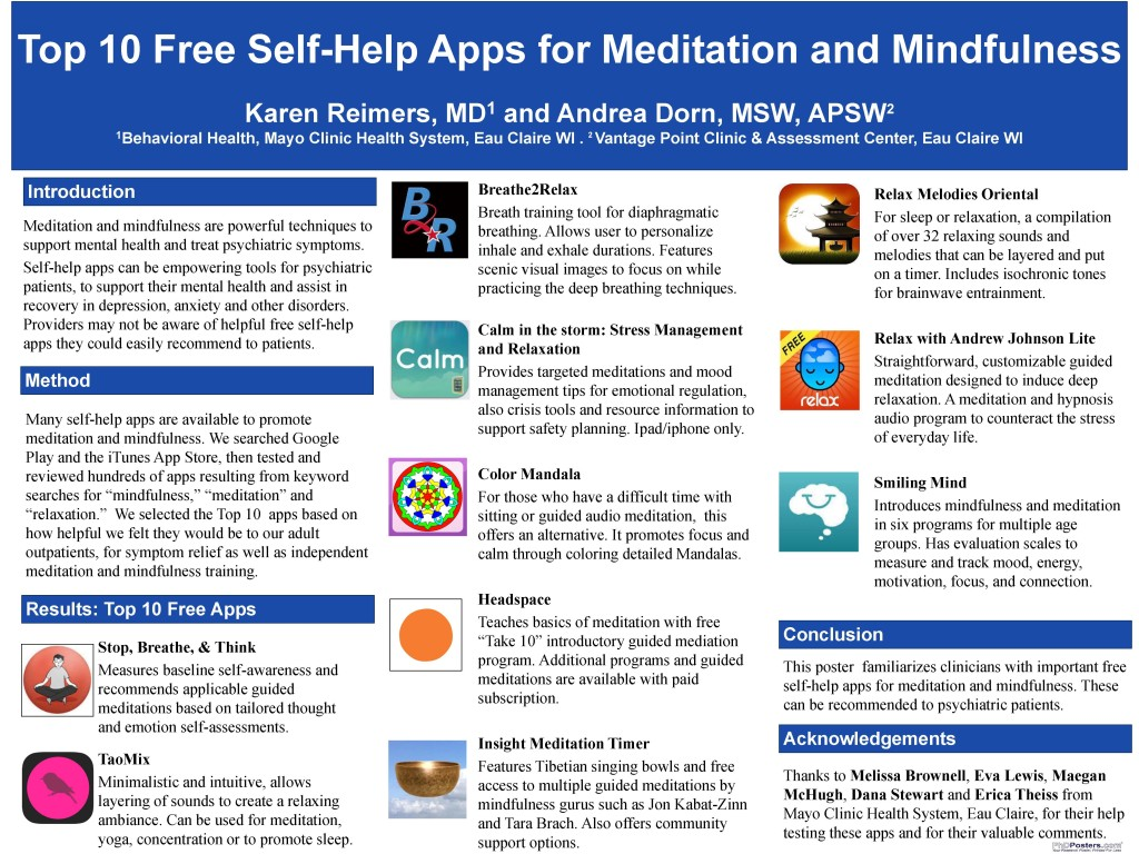 Apps Meditation Mindfulness