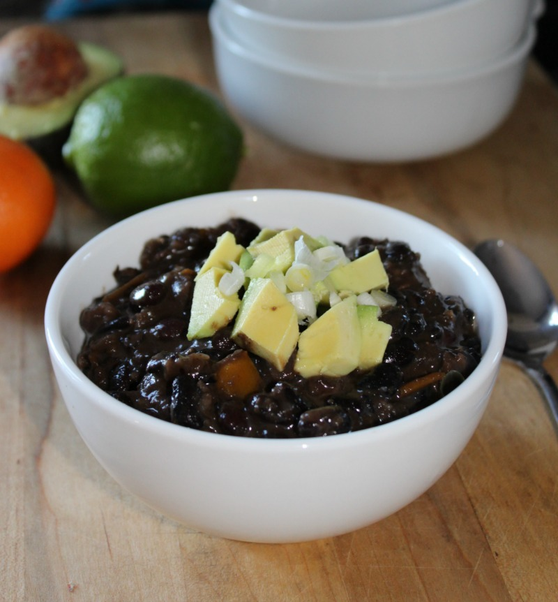 black bean soup made with black beans simpleandsavory
