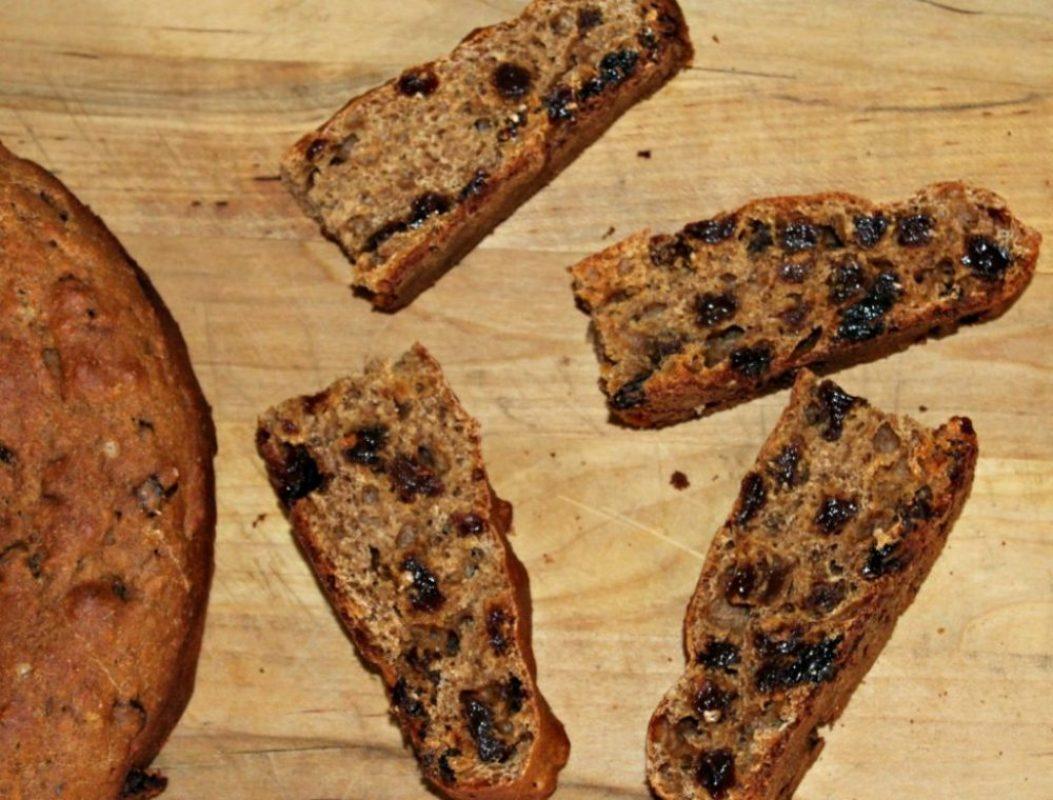 Irish Soda Bread made with Whole wheat FLour