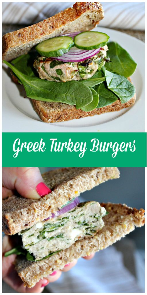 Greek Turkey Burgers Simple and Savory.com
