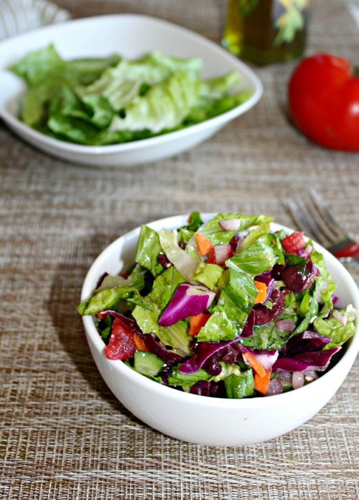 Garden Fresh Chopped Salad Simple and Savory.com