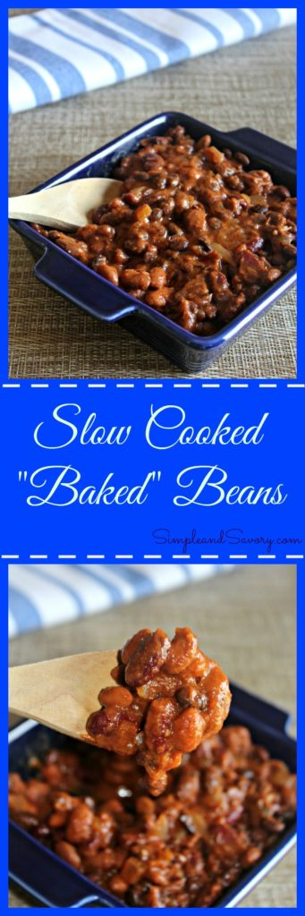 Slow Cooked Baked Beans Healthy, vegan, gluten free