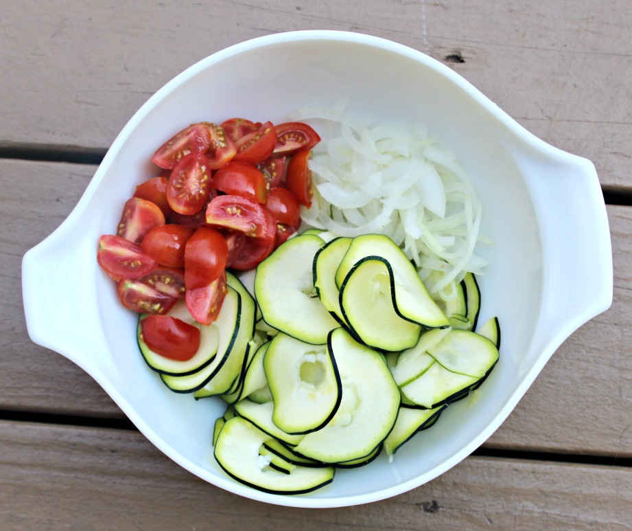 zucchini ribbon salad ingredients
