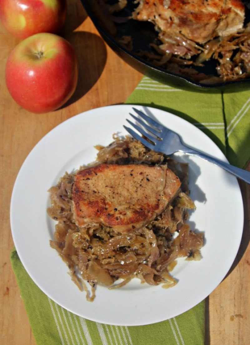 pork-chops-and-sauerkraut-and-apples-simpleandsavory-com