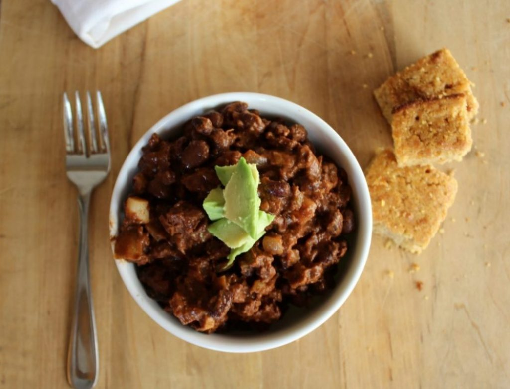 Bison & Black Bean Chili