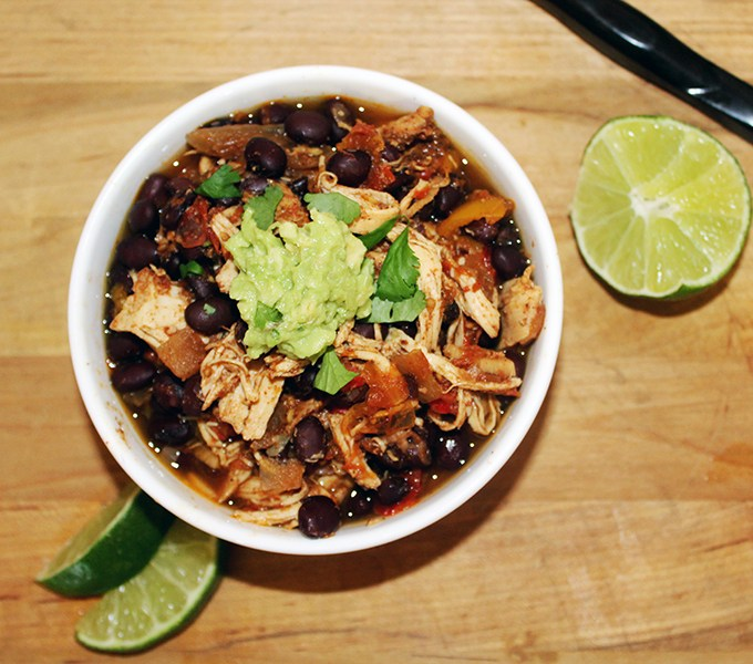 Slow cooked chili chicken gluten free simpleandsavory
