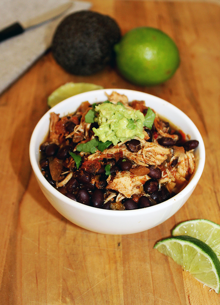 Slow cooker chili chicken main gluten-free simple and savory.com