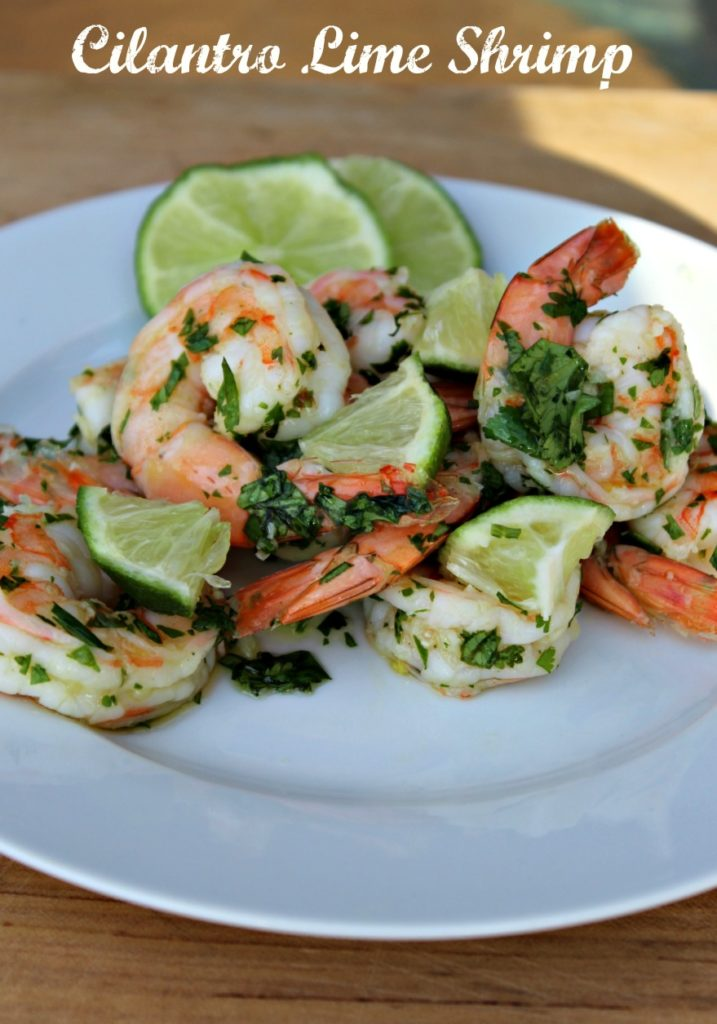 Cilantro Lime Shrimp #SundaySupper