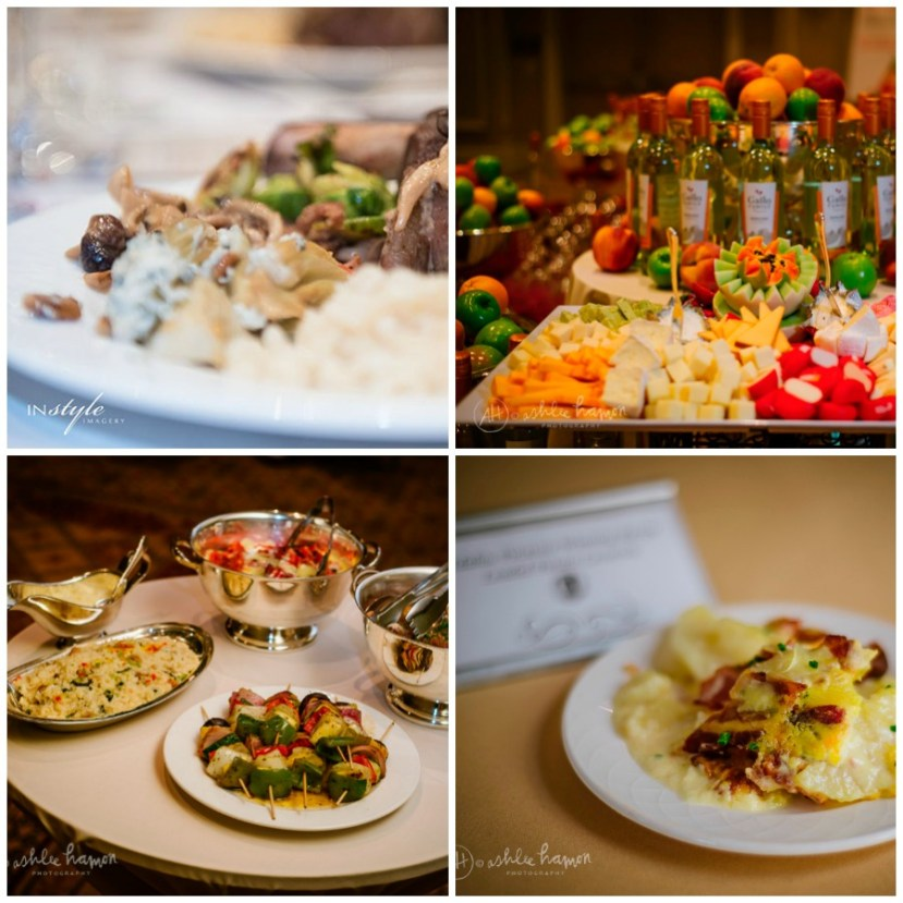 FOOD AT FOOD AND WINE CONFERENCE