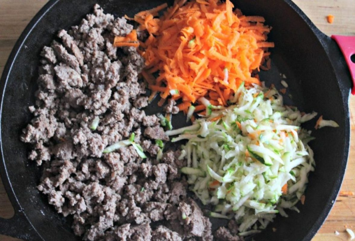 Healthy beef taco ingredients simple and savory.com