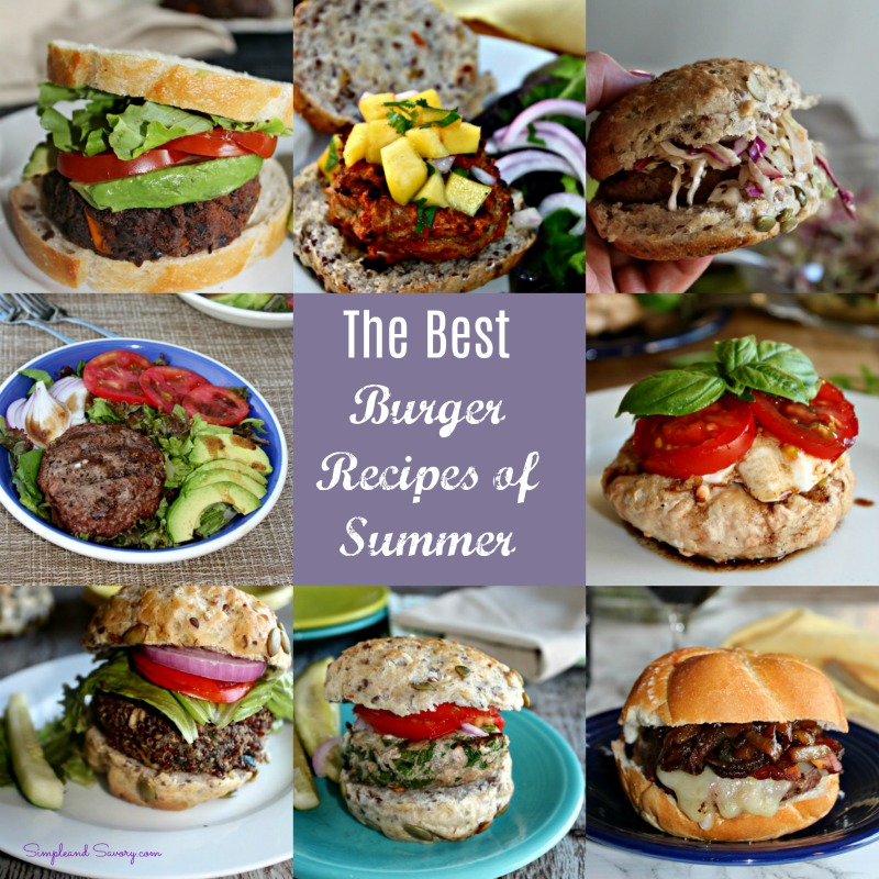 Best burger recipes simpleandsaory.com