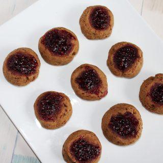 Raspberry Thumbprint Cookies Simple and Savory
