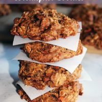 Oatmeal Carrot Breakfast Cookies