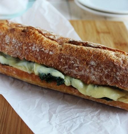 Philadelphia Style Roast Pork Vegetarian whole sandwich