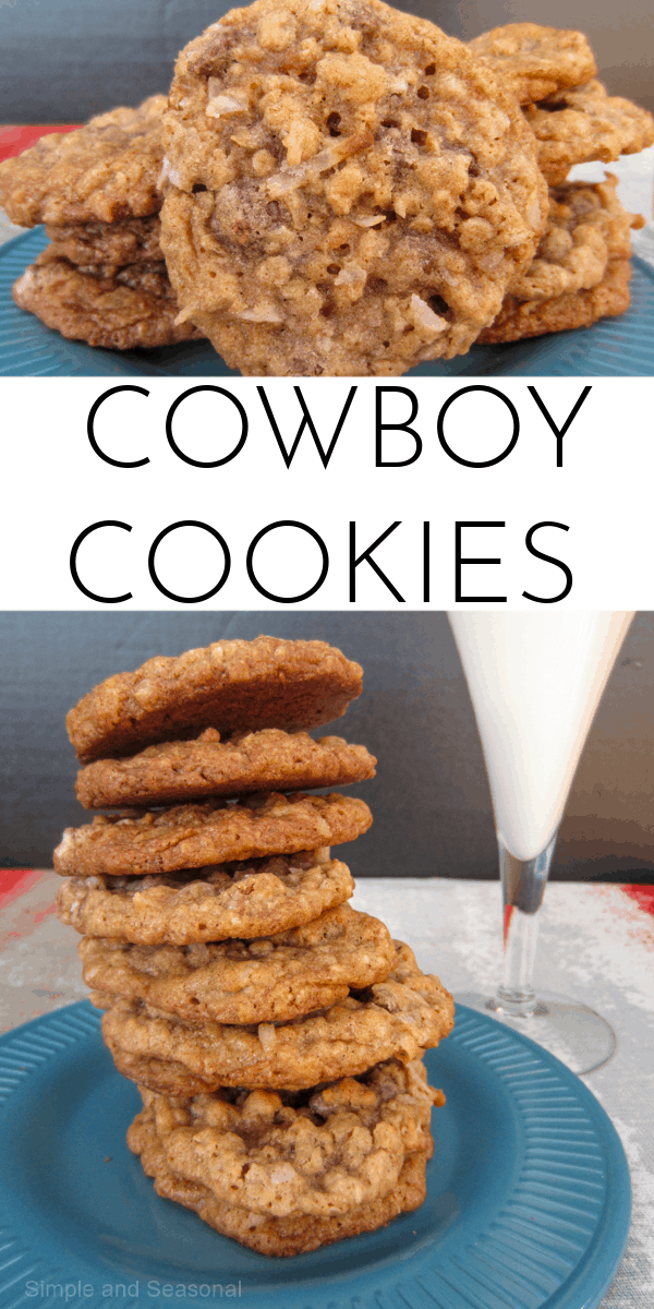 """Feeding a crowd? Try these Cowboy Cookies (otherwise known as """"everything but the kitchen sink"""" cookies.)  via @nmburk"""