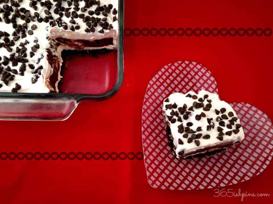 chocolate covered strawberry lasagna