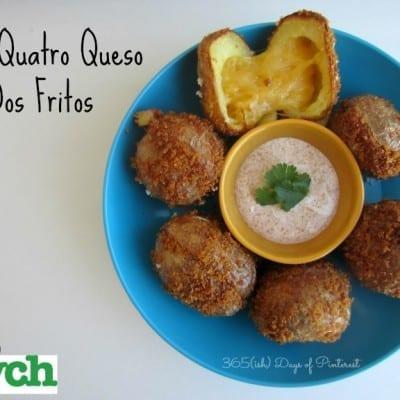 fries quatro queso dos fritos